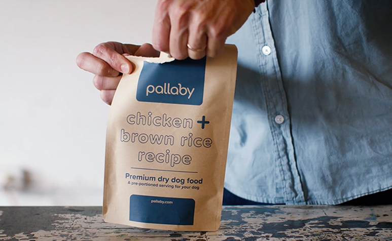 pallaby pouch being ripped open